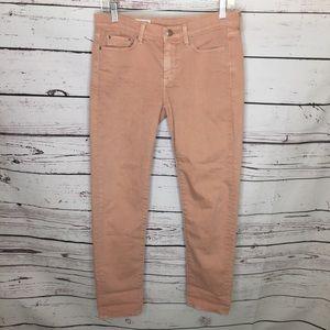 Gap 24/00r pink sexy boyfriend jeans